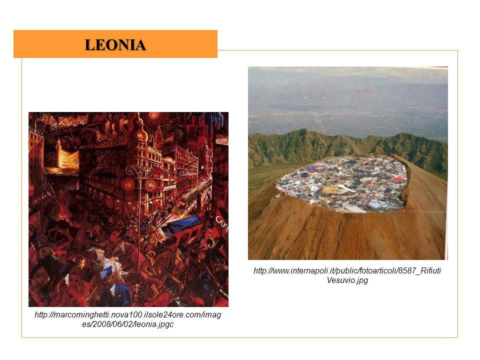LEONIA http://marcominghetti.nova100.ilsole24ore.com/imag es/2008/06/02/leonia.jpgc http://www.internapoli.it/public/fotoarticoli/8587_Rifiuti Vesuvio