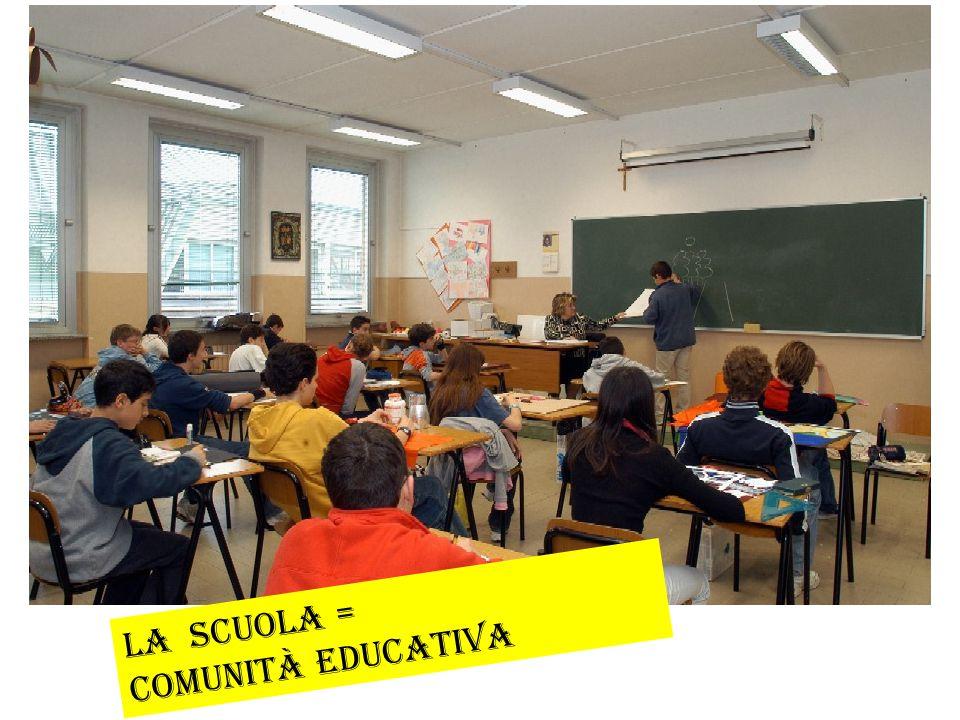 La Scuola = comunità educativa