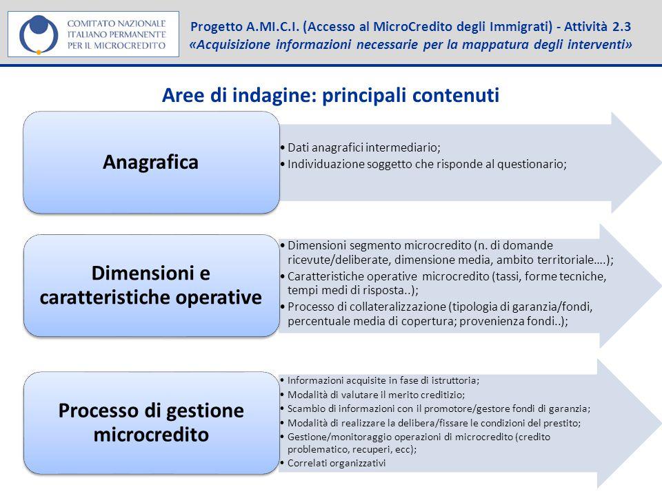 Progetto A.MI.C.I.