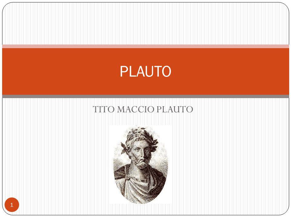 TITO MACCIO PLAUTO PLAUTO 1