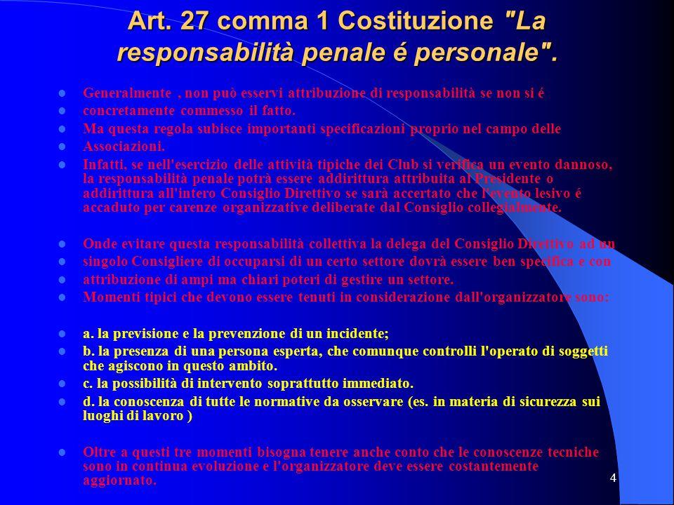 4 Art. 27 comma 1 Costituzione