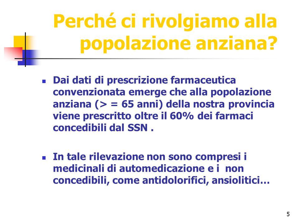 6 IL QUESTIONARIO L'indagine è stata condotta in 12 centri sociali del Comune di Ferrara, distribuendo un questionario a risposta multipla elaborato da una Commissione multidisciplinare.