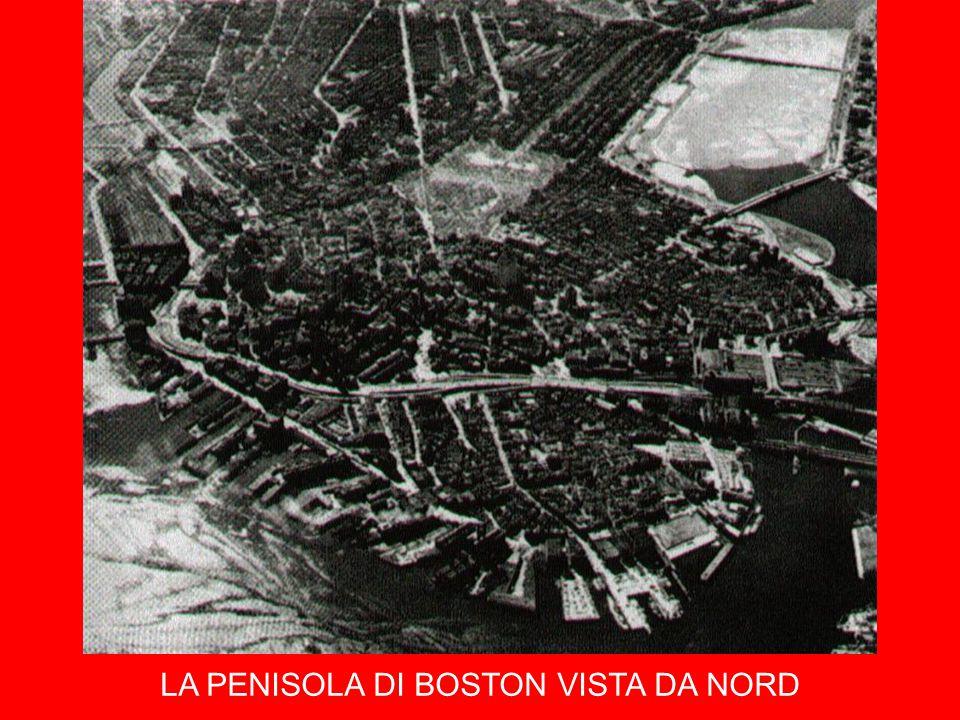 LA PENISOLA DI BOSTON VISTA DA NORD
