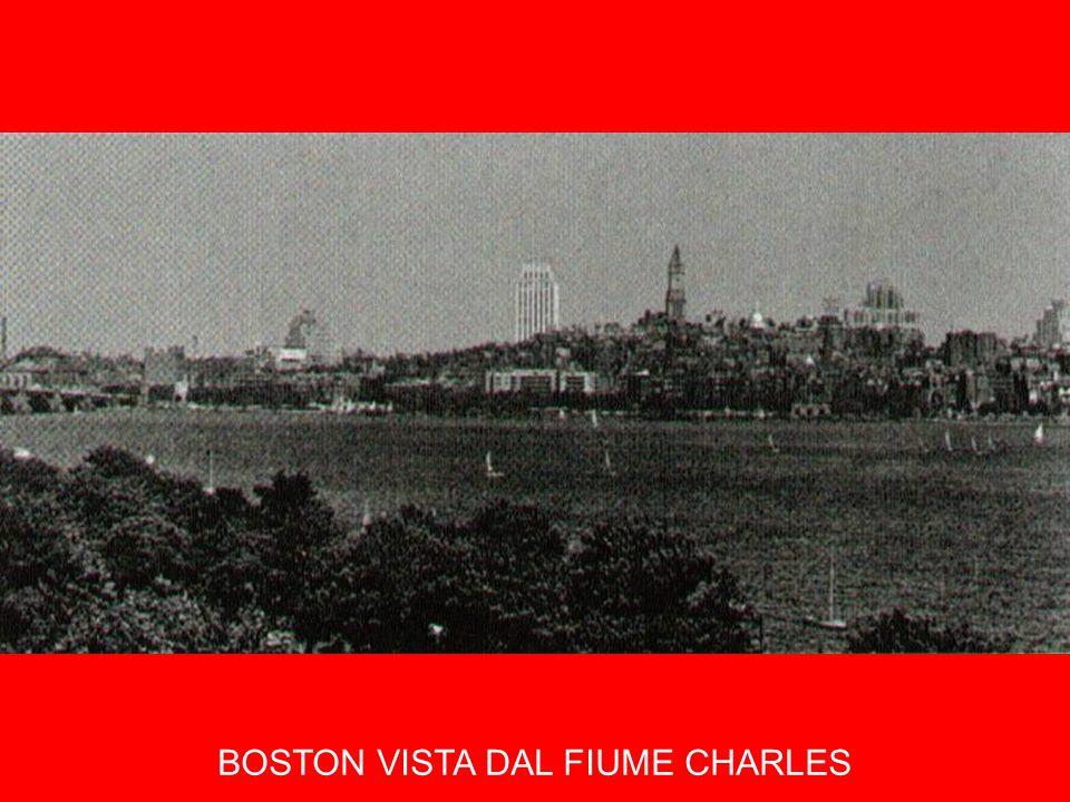 BOSTON VISTA DAL FIUME CHARLES