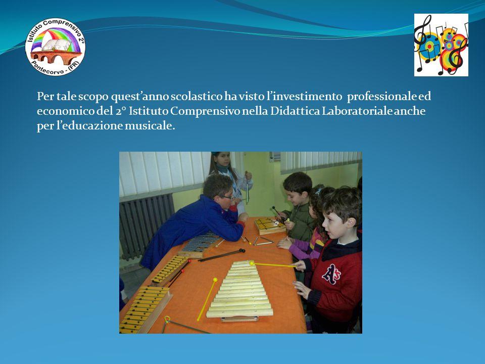 Per tale scopo quest'anno scolastico ha visto l'investimento professionale ed economico del 2° Istituto Comprensivo nella Didattica Laboratoriale anch