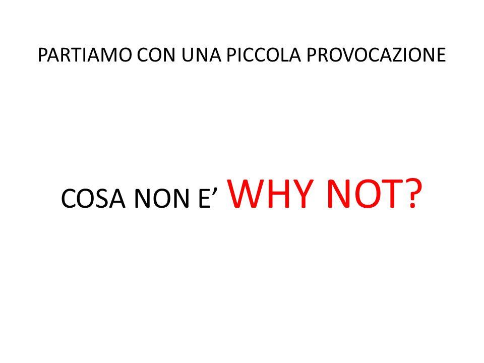 WHY NOT? NON E' UN PARCHEGGIO