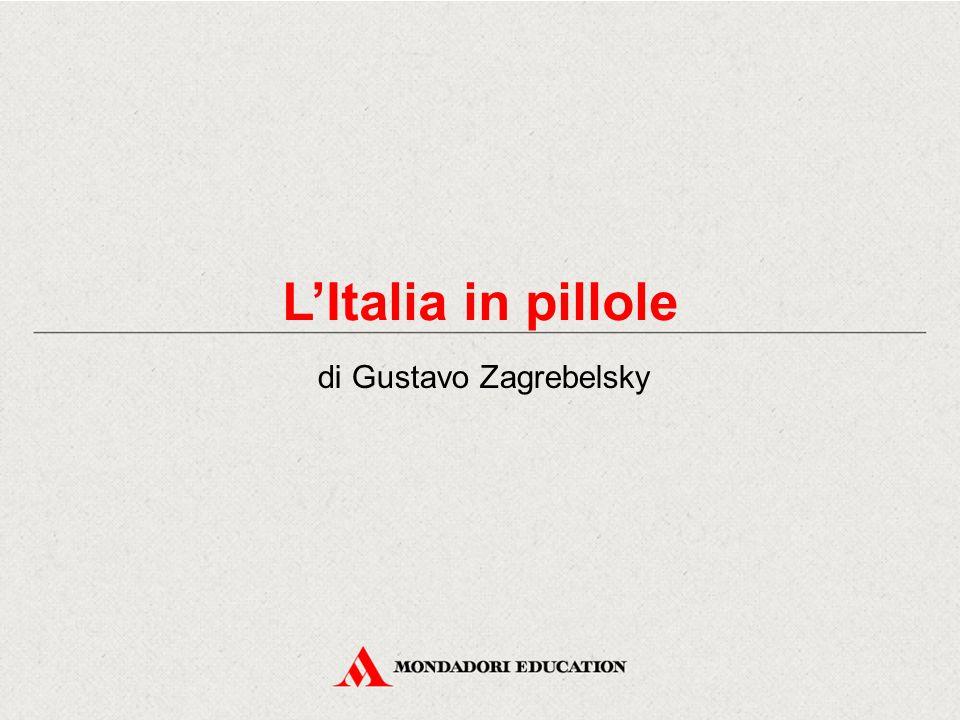 L'Italia in pillole di Gustavo Zagrebelsky