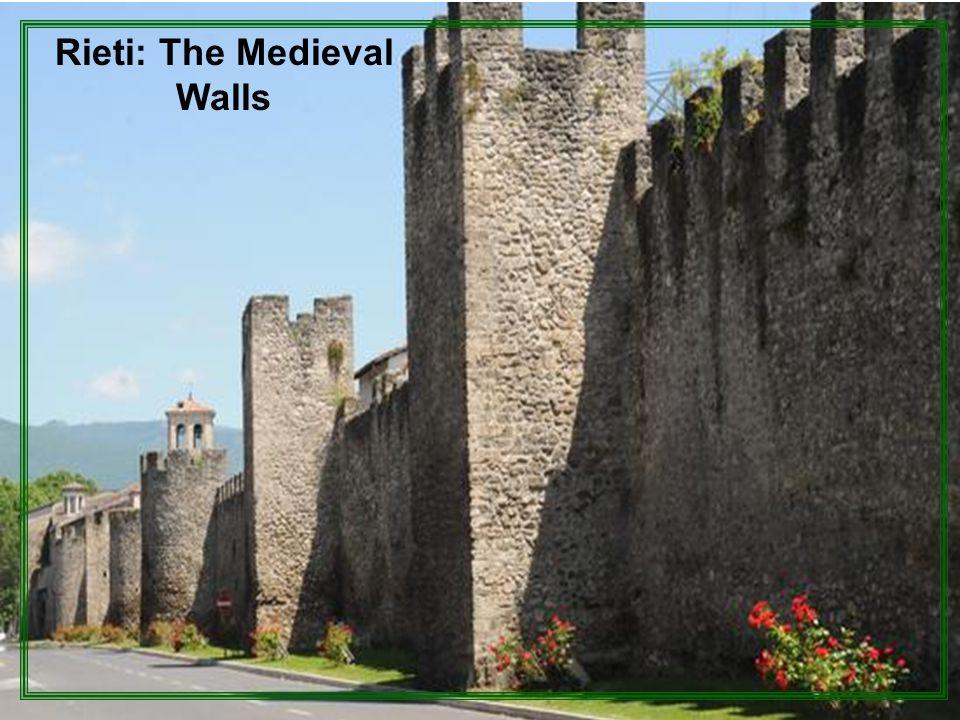 Rieti: The Medieval Walls