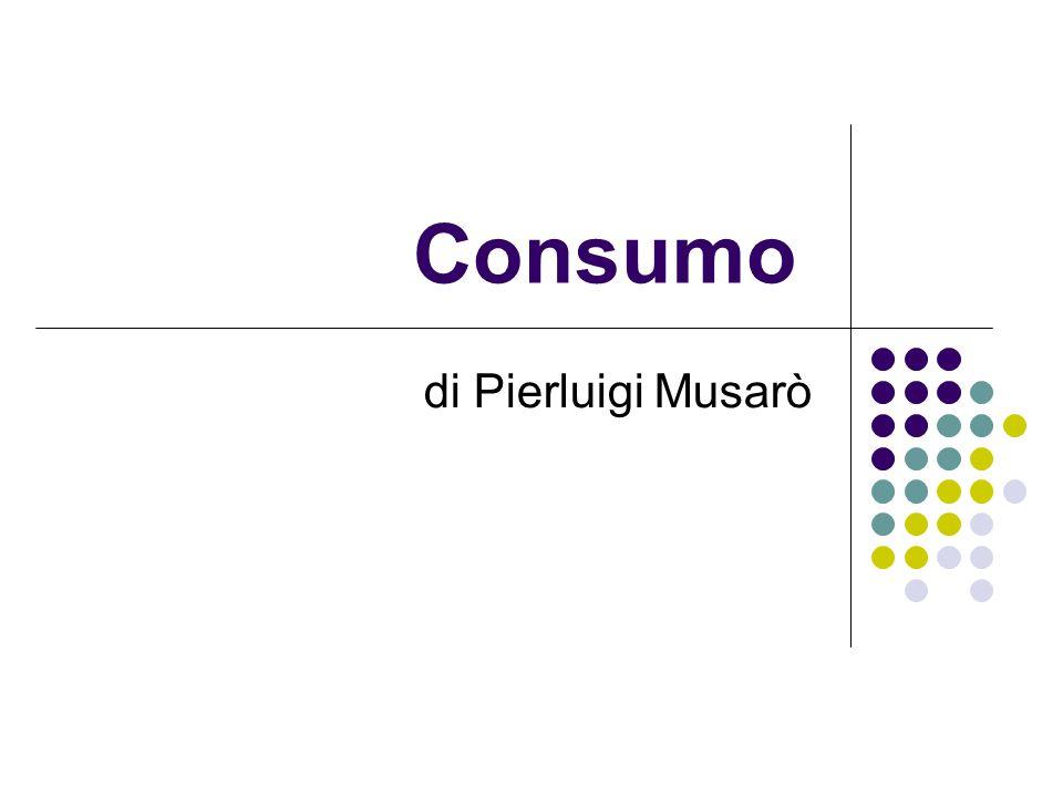 Consumo di Pierluigi Musarò
