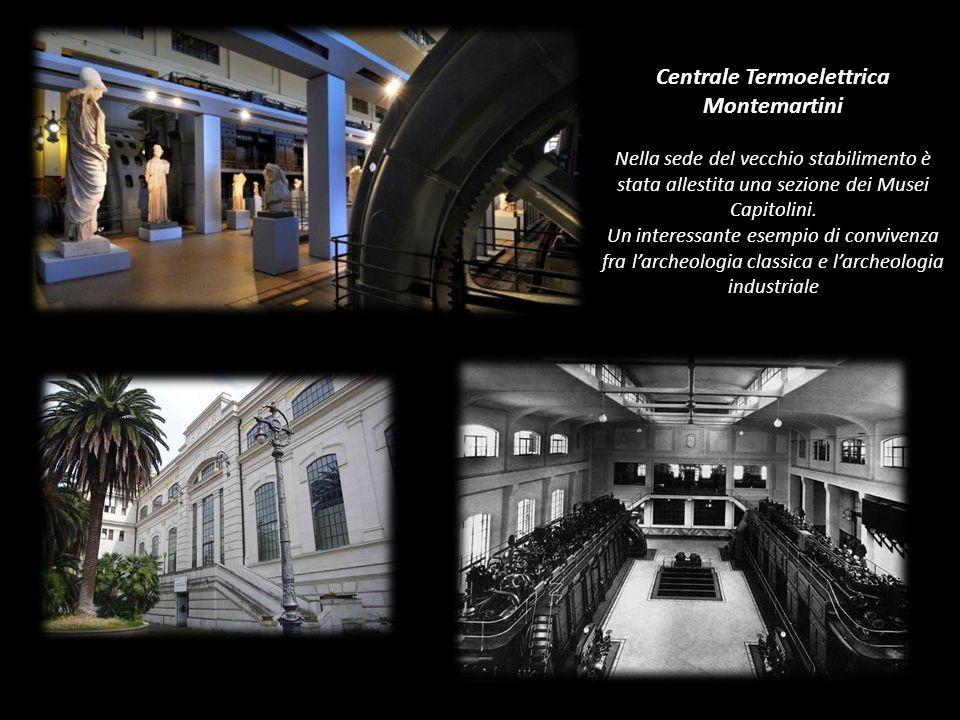 Centrale Termoelettrica Montemartini Nella sede del vecchio stabilimento è stata allestita una sezione dei Musei Capitolini.