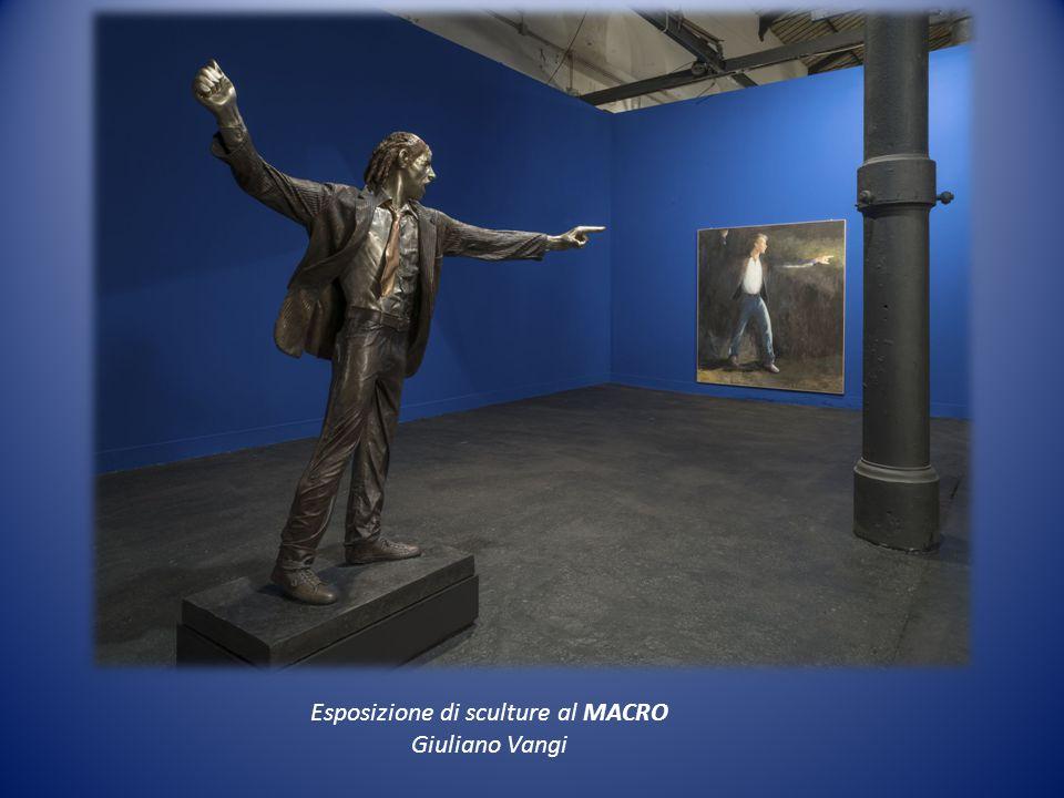 Esposizione di sculture al MACRO Giuliano Vangi