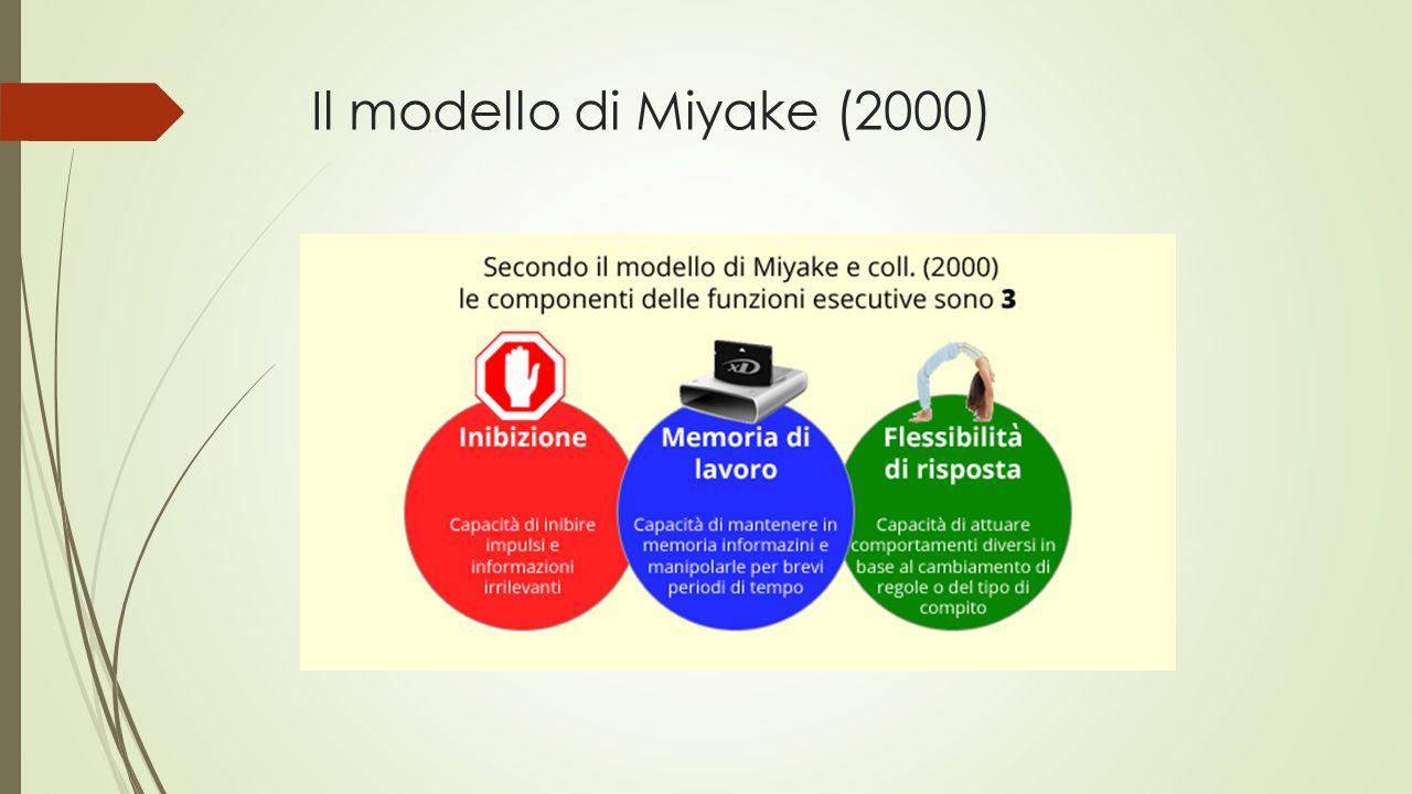 Il modello di Miyake (2000)