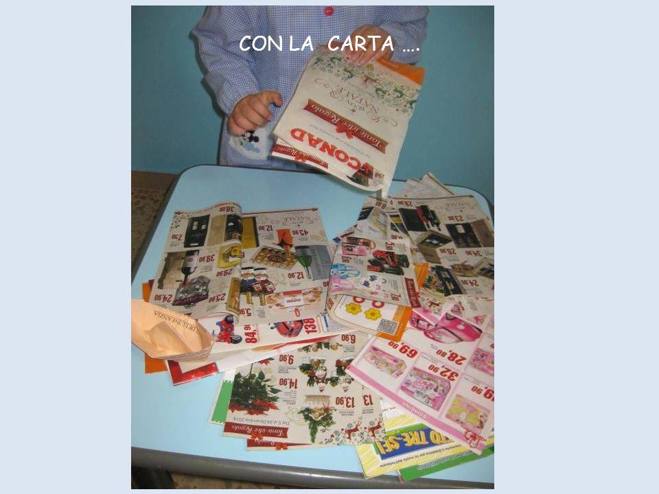 CON LA CARTA ….