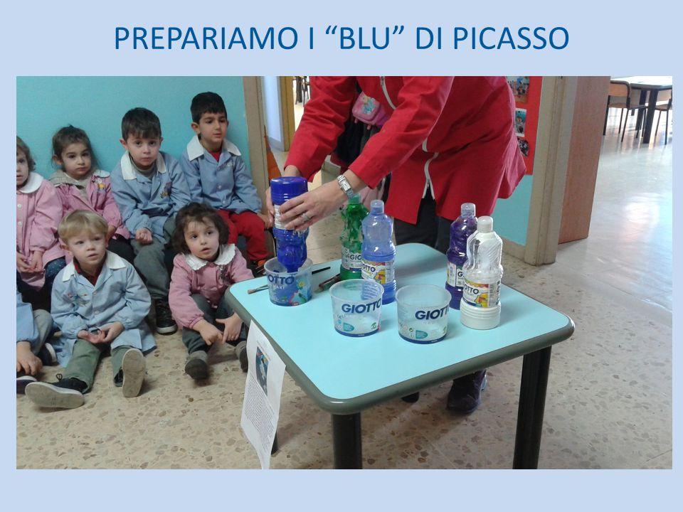 PREPARIAMO I BLU DI PICASSO