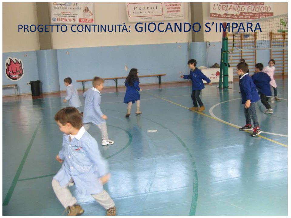 PROGETTO CONTINUITÀ : GIOCANDO S'IMPARA