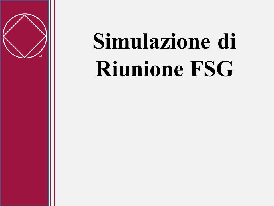  Simulazione di Riunione FSG