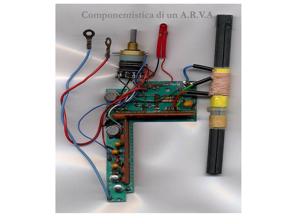 Componentistica di un A.R.V.A.