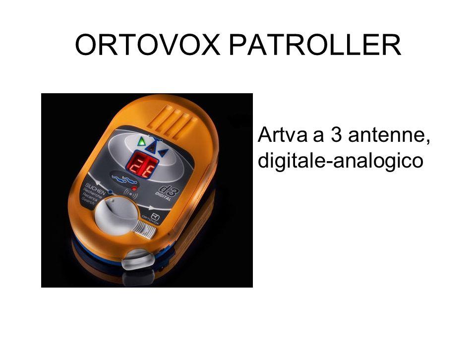 ORTOVOX PATROLLER Artva a 3 antenne, digitale-analogico