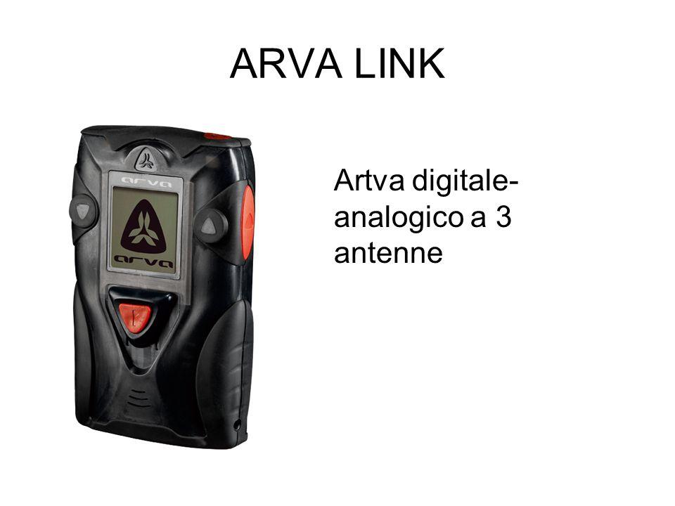 ARVA LINK Artva digitale- analogico a 3 antenne