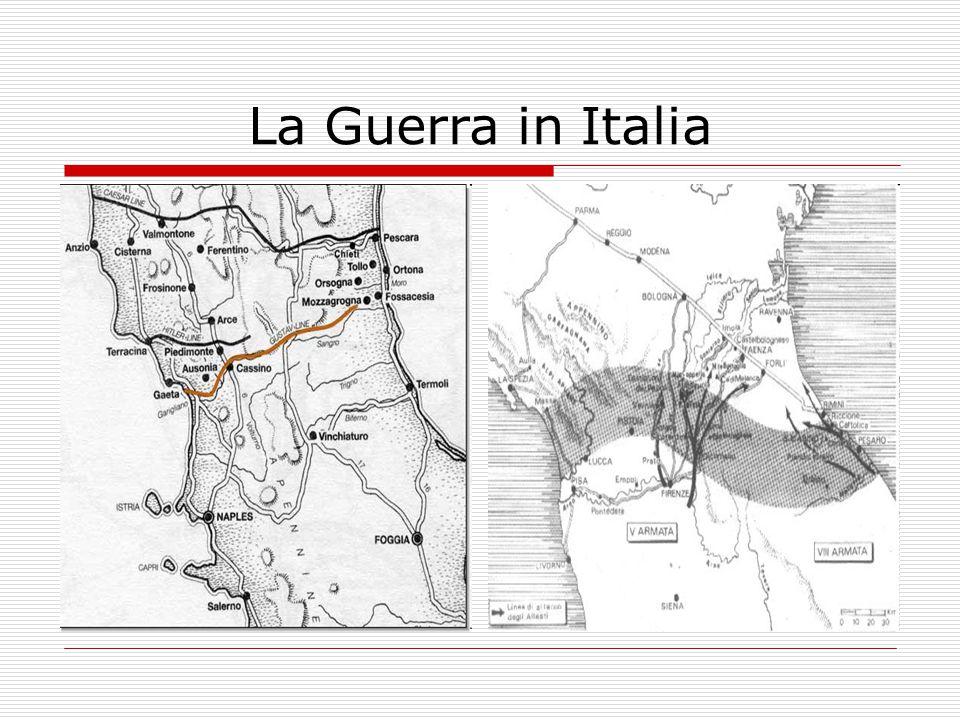 La svolta di Salerno (marzo 1944) Palmiro Togliatti Pietro Badoglio