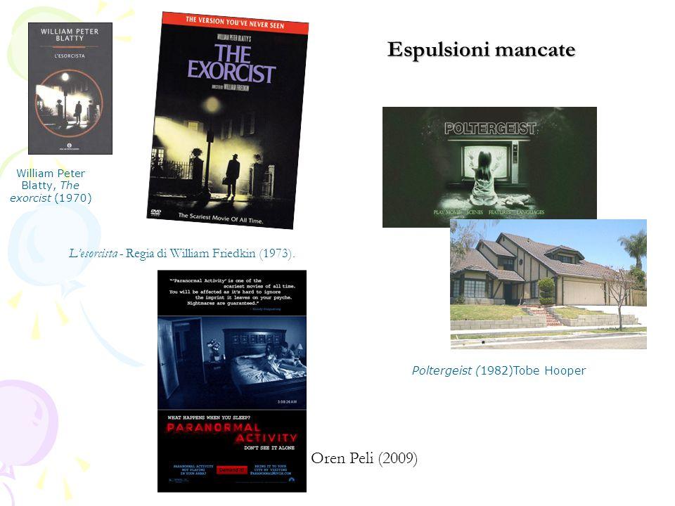 L'esorcista - Regia di William Friedkin (1973).