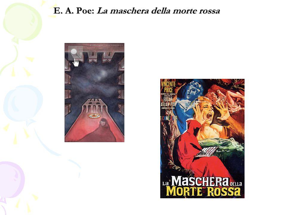 E. A. Poe: La maschera della morte rossa