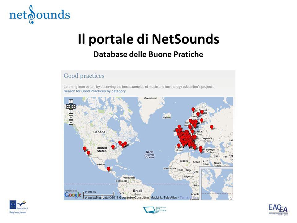 Il portale di NetSounds Database delle Buone Pratiche