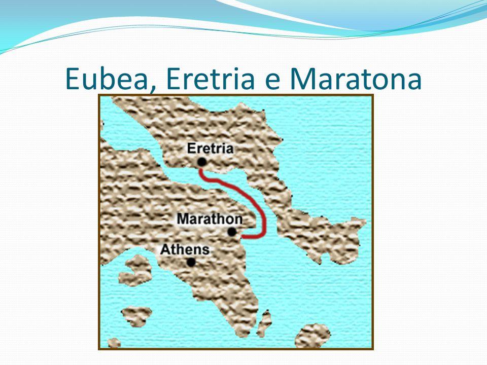 Eubea, Eretria e Maratona