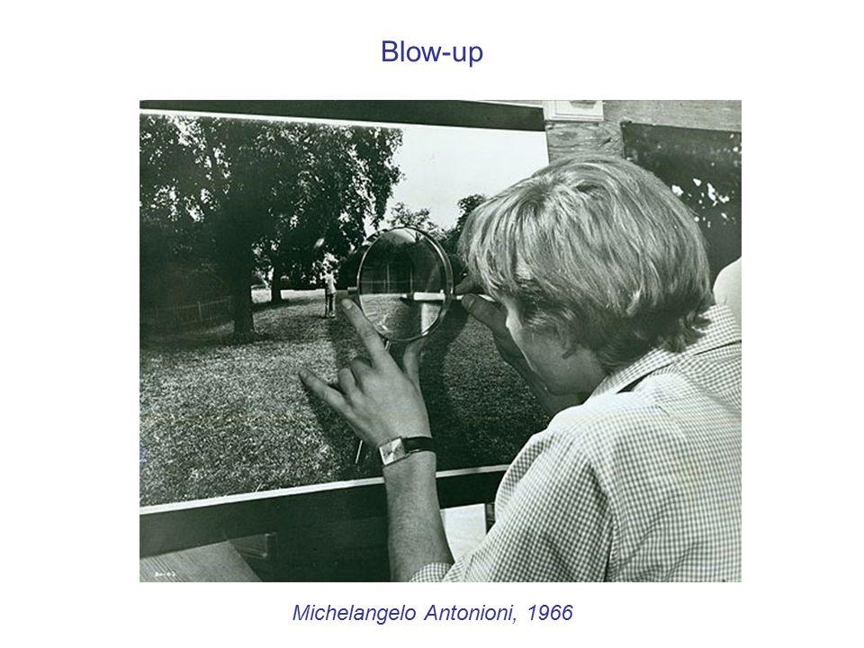 Michelangelo Antonioni, 1966 Blow-up