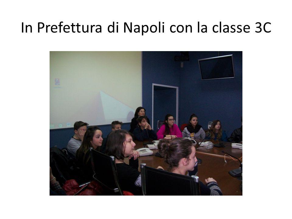 In Prefettura di Napoli con la classe 3C