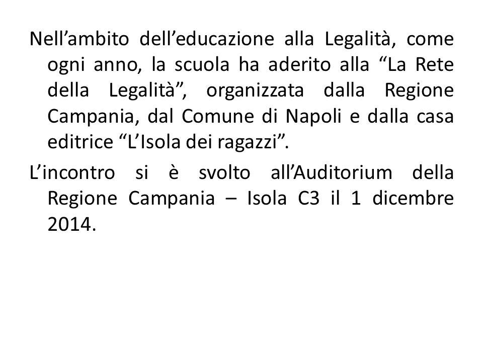 Il tavolo dei relatori, fra essi il Sindaco di Napoli, on.