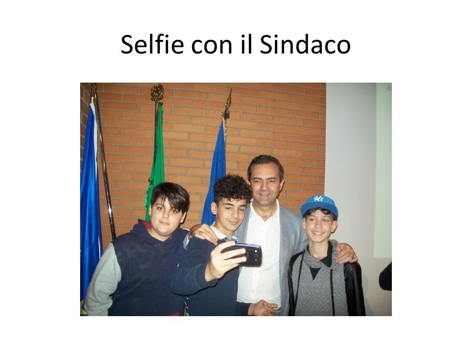 Selfie con il Sindaco