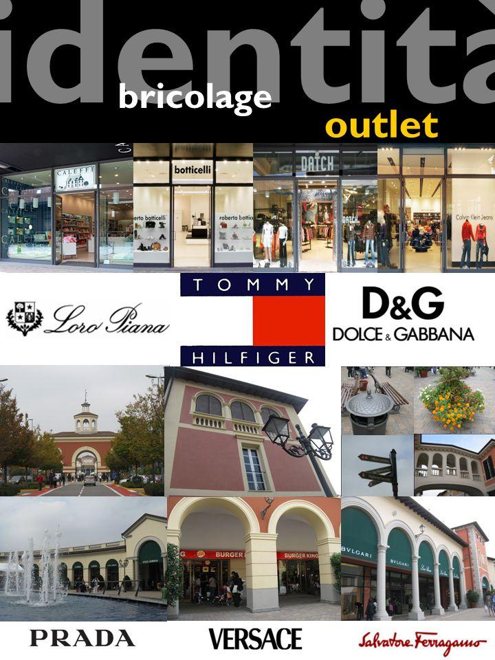 Architettura e arredo urbano Brands Stores identità outlet bricolage