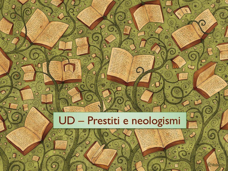 Meccanismi di formazione delle parole Unione di parole: per es.