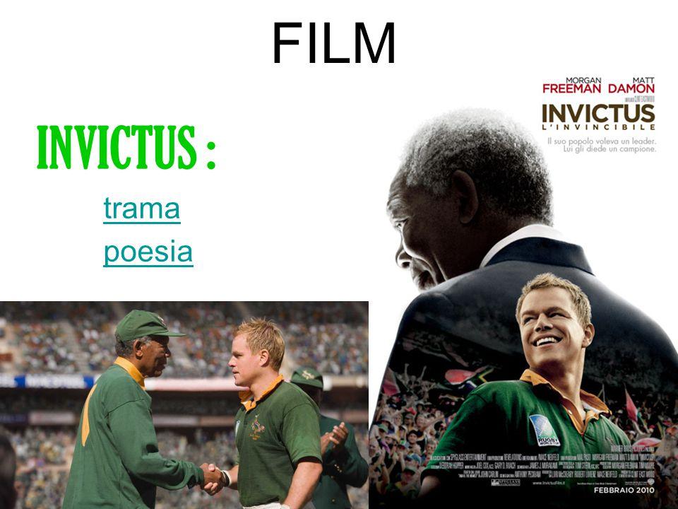FILM INVICTUS : trama poesia