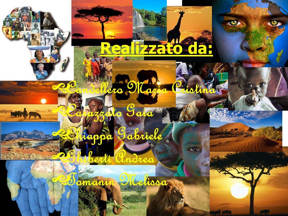 Realizzato da:  Candellero Maria Cristina  Carazzato Gaia  Chiappa Gabriele  Ghiberti Andrea  Tomanin Melissa FINE