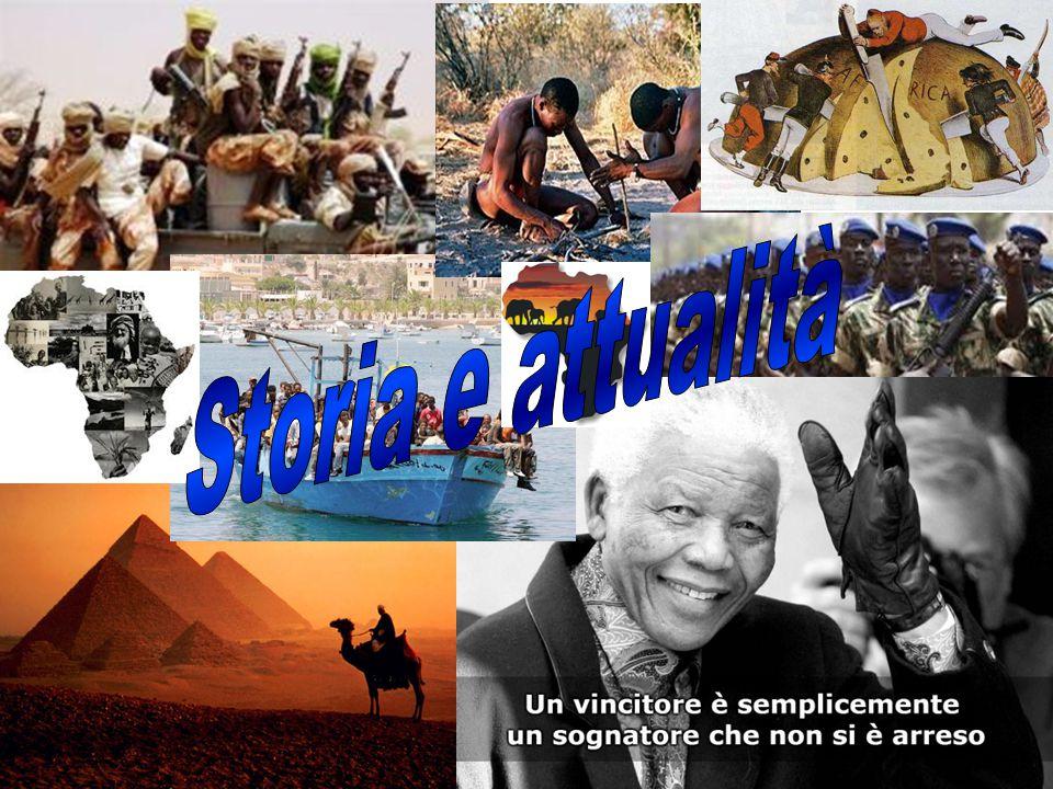 LE GRANDI CIVILTÀ L'Africa è considerata la culla dell'umanità e sede di civiltà antiche.