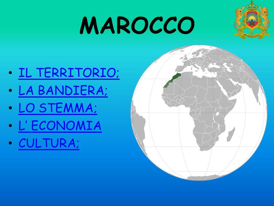 IL TERRITORIO; LA BANDIERA; LO STEMMA; L' ECONOMIA CULTURA;