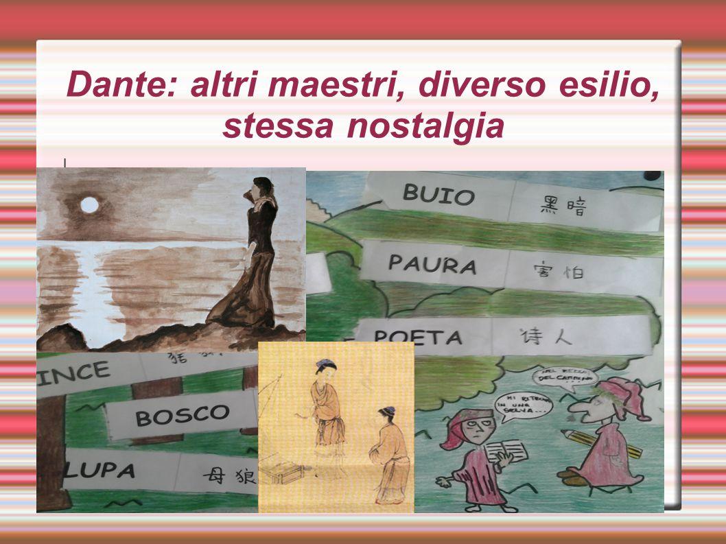 Dante: altri maestri, diverso esilio, stessa nostalgia I
