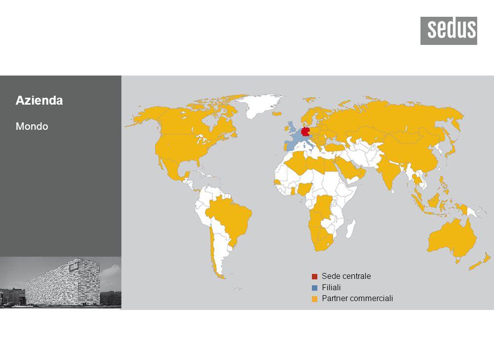 Azienda Mondo Sede centrale Filiali Partner commerciali