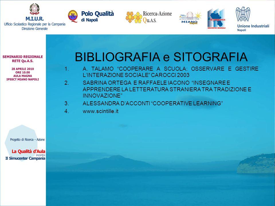 BIBLIOGRAFIA e SITOGRAFIA 1.A.