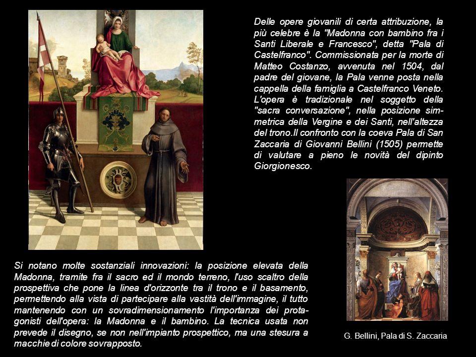 Questo dipinto è uno dei più interessanti del '500 italiano, per quanto non siamo più in grado di riconoscere il soggetto rappresentato, ma forse, anche all'epoca in cui venne realizzato, il significato di questo quadro non era immediatamente percepibile.