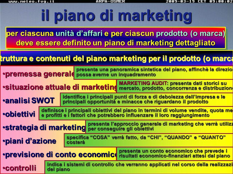 il marketing mix è l'insieme di strumenti tattici controllabili di marketing che l'impresa utilizza, in diverse combinazioni, allo scopo di generare u