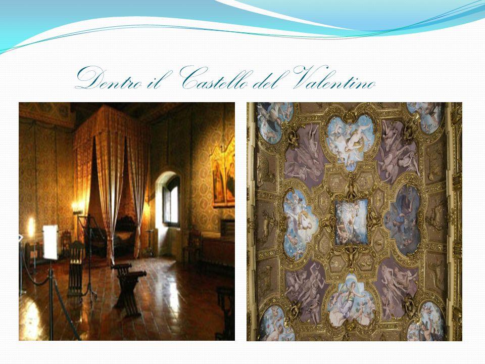 Dentro il Castello del Valentino