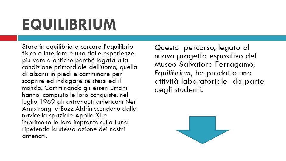 EQUILIBRIUM L'ARTE DEL CAMMINARE 3H ECONOMICO SOCIALE LICEO MACHIAVELLI A.