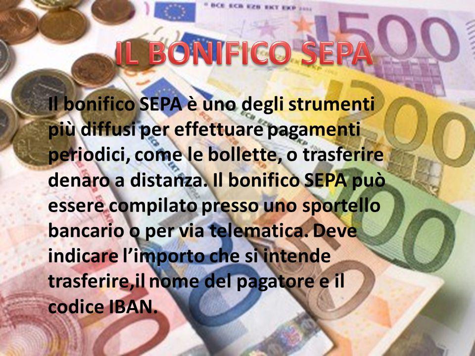 Il bonifico SEPA è uno degli strumenti più diffusi per effettuare pagamenti periodici, come le bollette, o trasferire denaro a distanza.