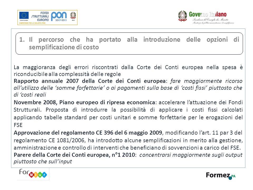 Il Processo di gestione del cambiamento I principali ambiti di innovazione 1 2 B.