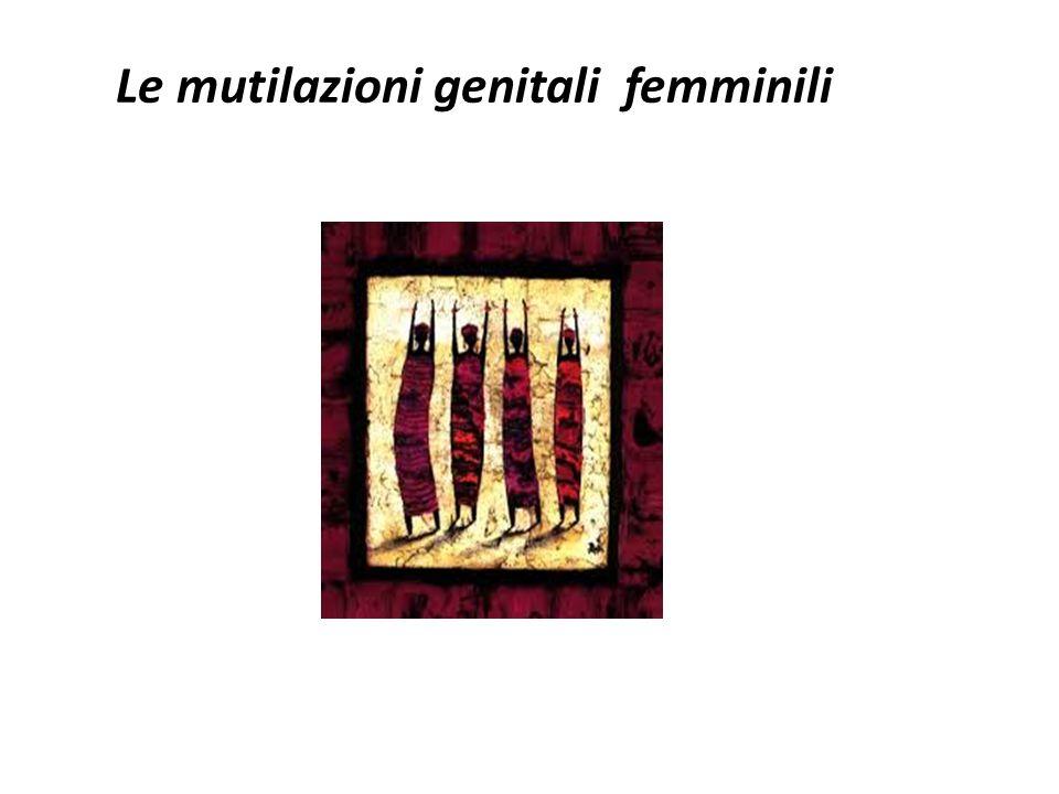 Le mutilazioni genitali femminili