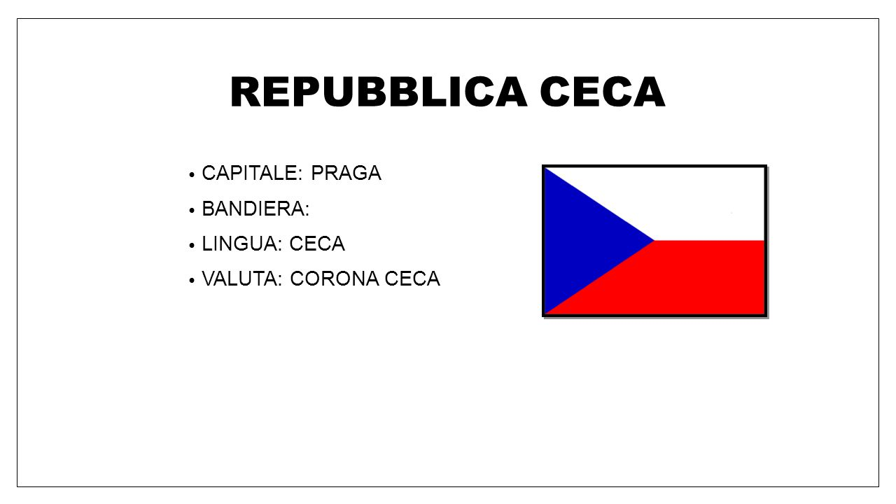 POLONIA CAPITALE: VARSAVIA BANDIERA: LINGUA: POLACCO VALUTA: ZLOTY POLACCO