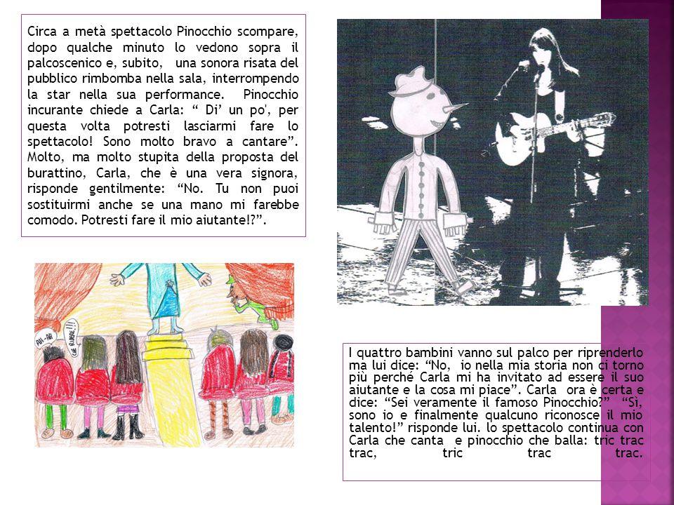 Quattro bambini di nome Virginia, Francesca, Alessandro e Federico stanno leggendo la favola di Pinocchio e arrivano al capitolo 36. Vedono un sacco a